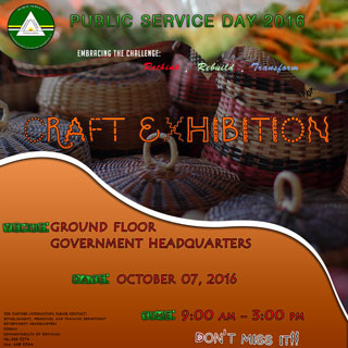 Public Service Day 2016 - Craft Exhibition (Click to enlarge)