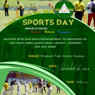 Public Service Day 2016 Sports Day (Click to enlarge)