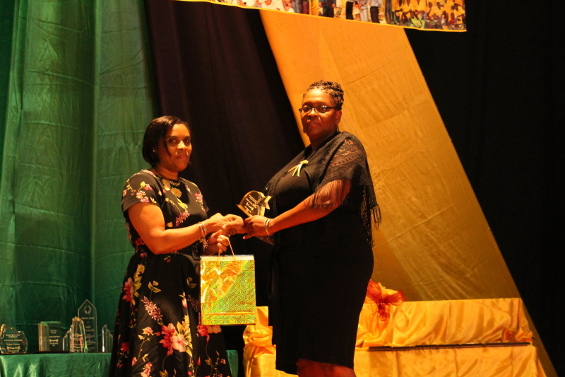 Middle Management Award:  Ms. Kerry-Ann Remie