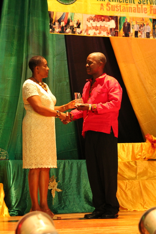 Chief Personnel Officer Award:  Mr. Wayne Peter