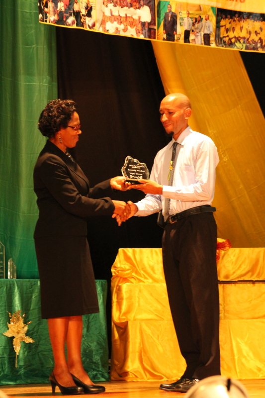 Minister for the Public Service Award (Individual): Mr. Wayne Winston